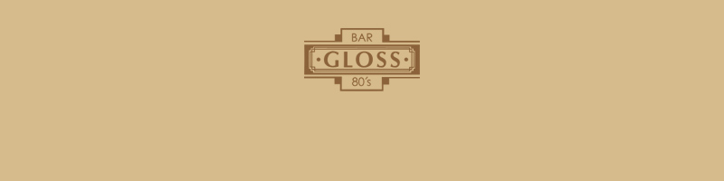 東京都文京区湯島 BAR GLOSS 80's